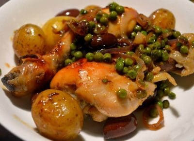 Tajine de poulet au four facile