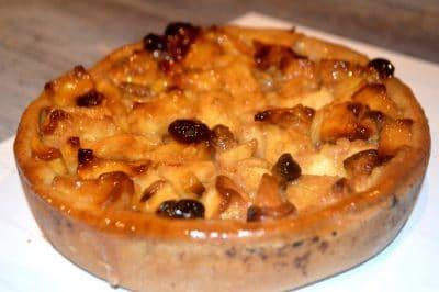 Tarte aux Pommes et Raisins – Gateau Facile