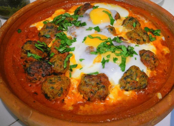 Tajine de Kefta à L'Oeuf (Recette Marocaine)