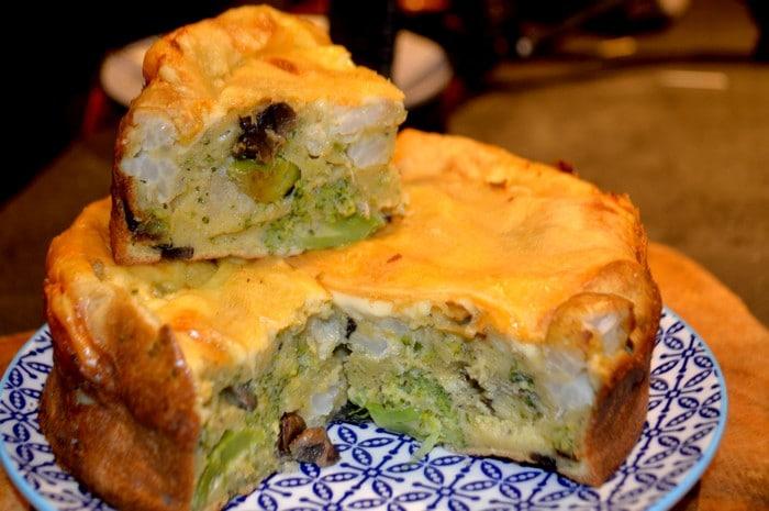 Tarte aux légumes Disponibles et Fromage à Raclette