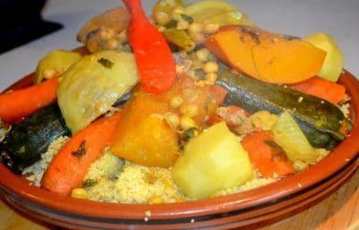 Couscous Marocain à l'Agneau Et lègumes
