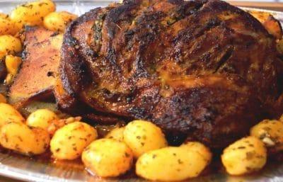 Epaule D Agneau Roti A La Marocaine Tastygourmandise