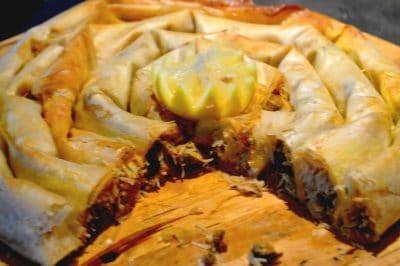 Recette De Pastilla Mhancha Aux Fruits de Mer