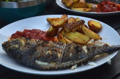 poisson au barbecue sans coller