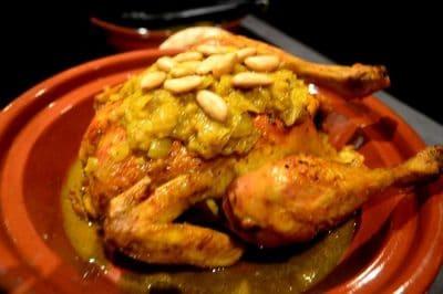 Poulet Aux Amandes à la Marocaine