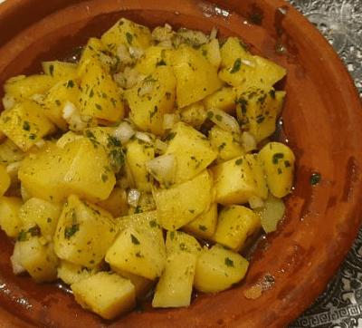 salade de pomme de terre marocaine
