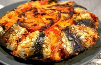 Sardine au four facile