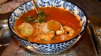 Soupe De Poisson (Aux Fruits De Mer Et Bulots)