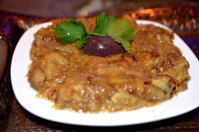 Zaalouk d'Aubergine au Cumin- Salade Marocaine