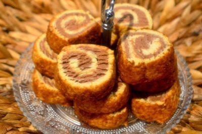 Petit Gâteau Marbré Parfumé Au Café