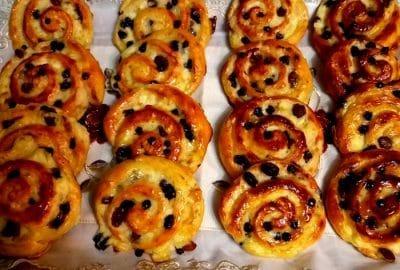 pain aux raisins facile