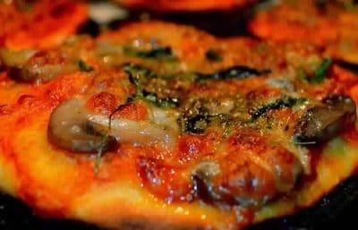 Mini Pizzas aux Champignons Pas Cher
