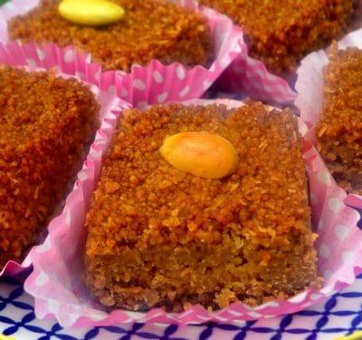 Gâteau facile à faire de Qalb el louz (Kalb Louz)