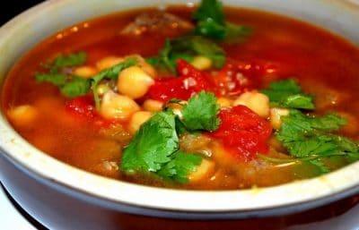 Soupe de Quinoa et Viande  (Rapide et facile)