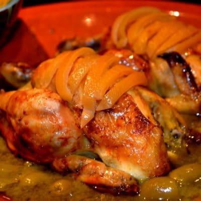 tajine poulet marocain