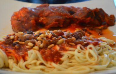des pates cuisine italienne
