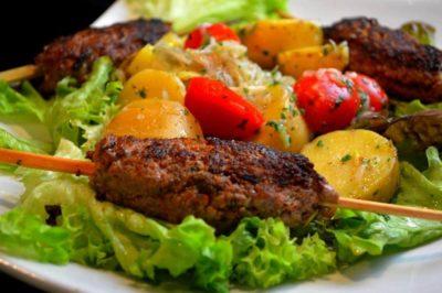 Kefta Barbecue à la Marocaine