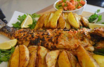 bar au four recette poisson