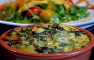 omelette au four facile rapide