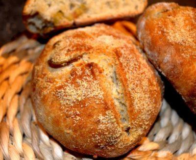 pain à l'ail