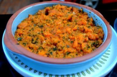 purée de carotte marocaine