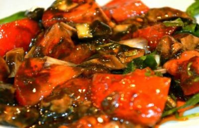 recette calamar en salade