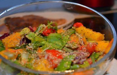 Salade d'Été de Mangue dietetique – Idée de Salade