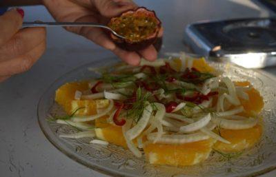 Salade De Fenouil Cru et Orange à la Marocaine