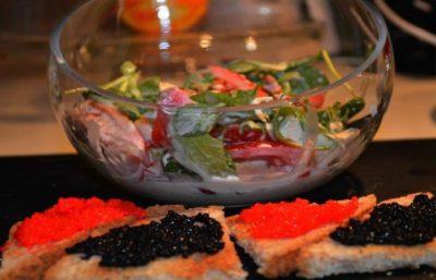 Salade Gourmande de Fromage Bleu