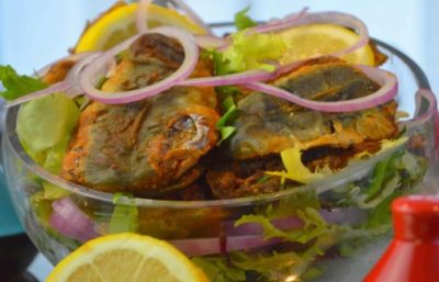 Sardines Farcies À La Charmoula Marocaine