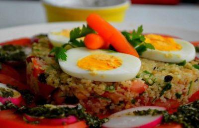 Salade Couscous végétarien Facile