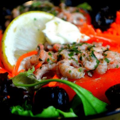 tomates farcies crevettes