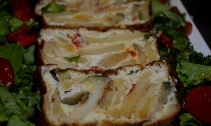 Cake Aux Légumes Revisité de la Ratatouille