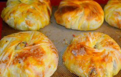 Crêpes Farcies aux Crevettes Pour Ramadan