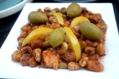 fèves recette d'entrée marocaine