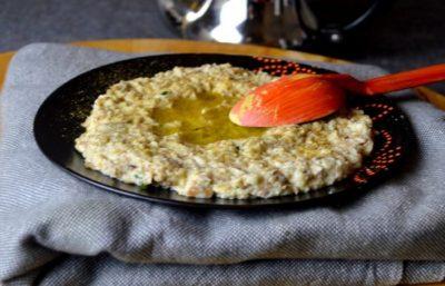Salade de fèves en Purée à la Marocaine