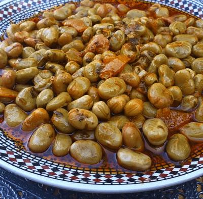fèves recette marocaine