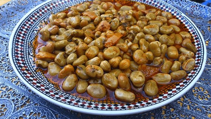Fèves  MCHERMEL Recette Marocaine ( الفول المشرمل)
