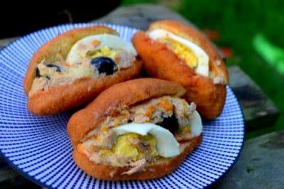 Fricassée (Sandwich Tunisien Léger et Rapide)