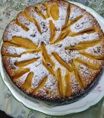 Gâteau Aux Pommes à la Ricotta (Jebli)
