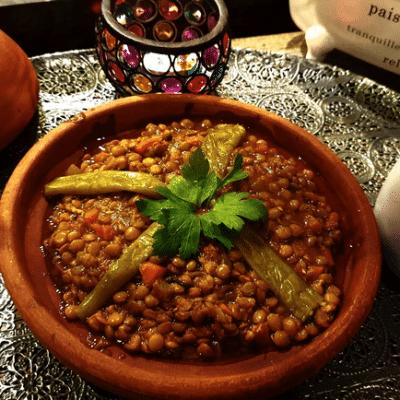 lentilles recette marocaine