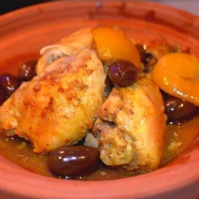 poulet olive tajine marocain