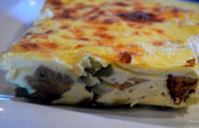 Recette Quiche au Saumon Sans pâte