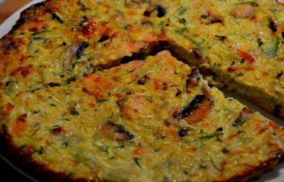Recette Quiche au Saumon sans Gluten