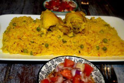 Risotto Au Poulet à la Marocaine