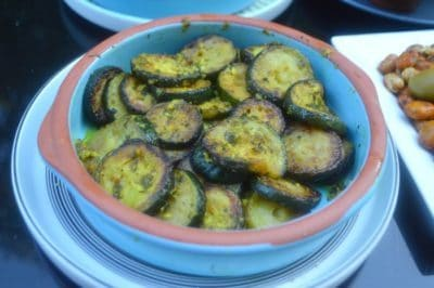salade courgette marocaine