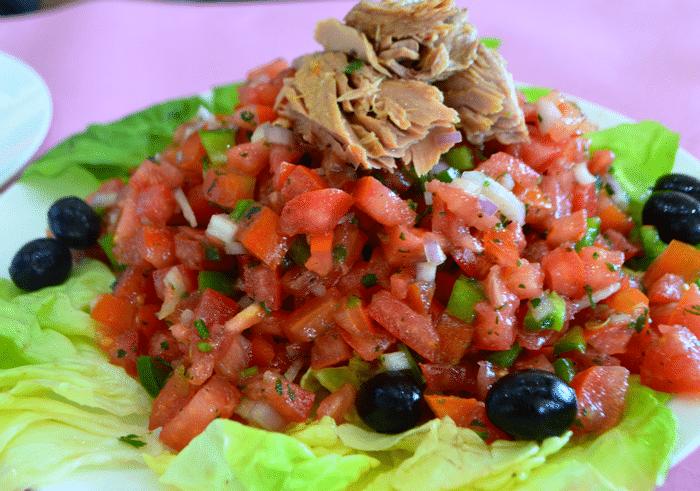 Salade Marocaine Facile Au Thon ET Tomate