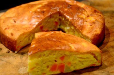 Cake Salé de Légumes – Recette Facile