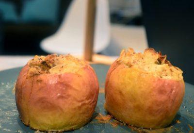 Pomme Rotie à la Ricotta – Cuisson Au Four