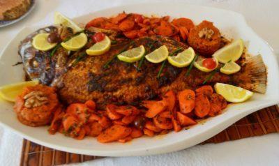 recette de poisson au four